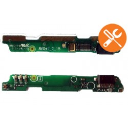 USB plug charge board with micorphone for Xiaomi Redmi note 2 Original
