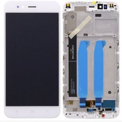 Original Complete screen with front housing for xiaomi MI A1