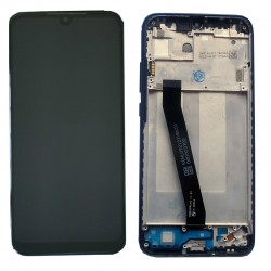 Original Complete screen with front housing for xiaomi Redmi 7