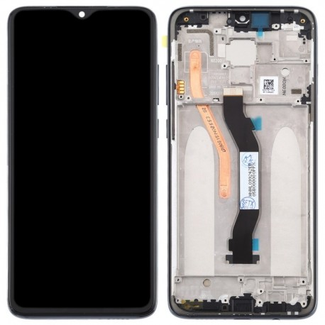 Original Complete screen with front housing for xiaomi Redmi note 8 Pro Global